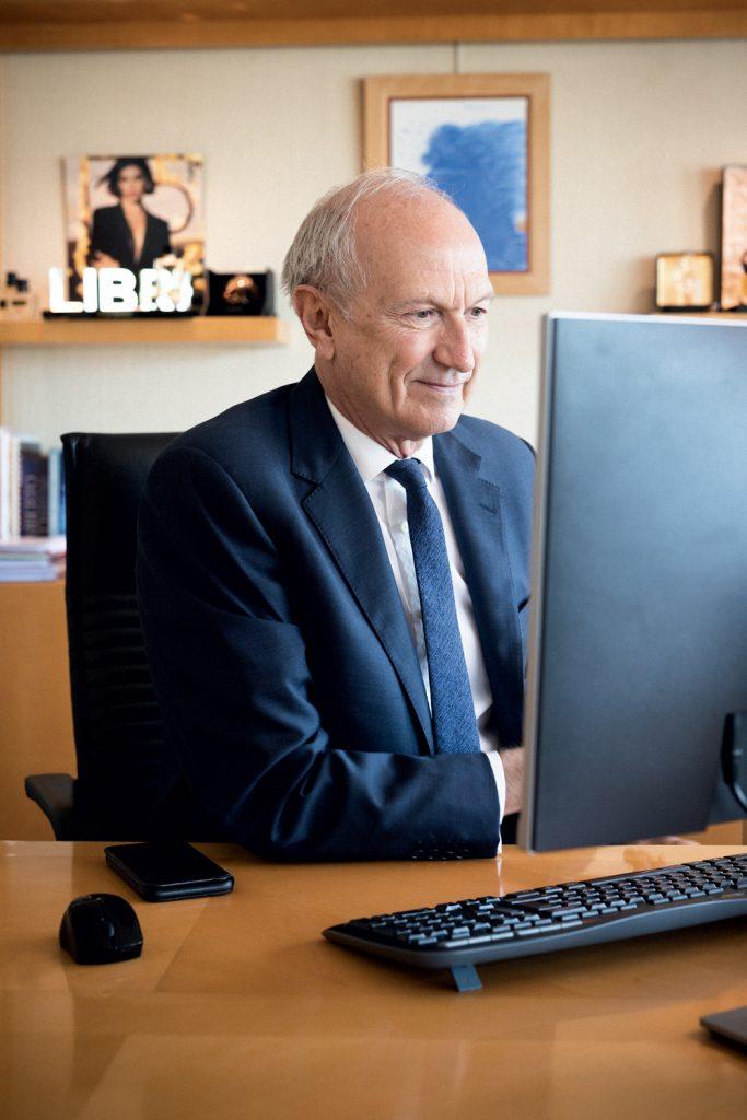 Jean-Paul Agon PDG de L'Oréal