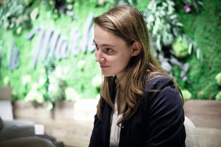 Portrait d'Angélique Sorba, étudiante à HEC
